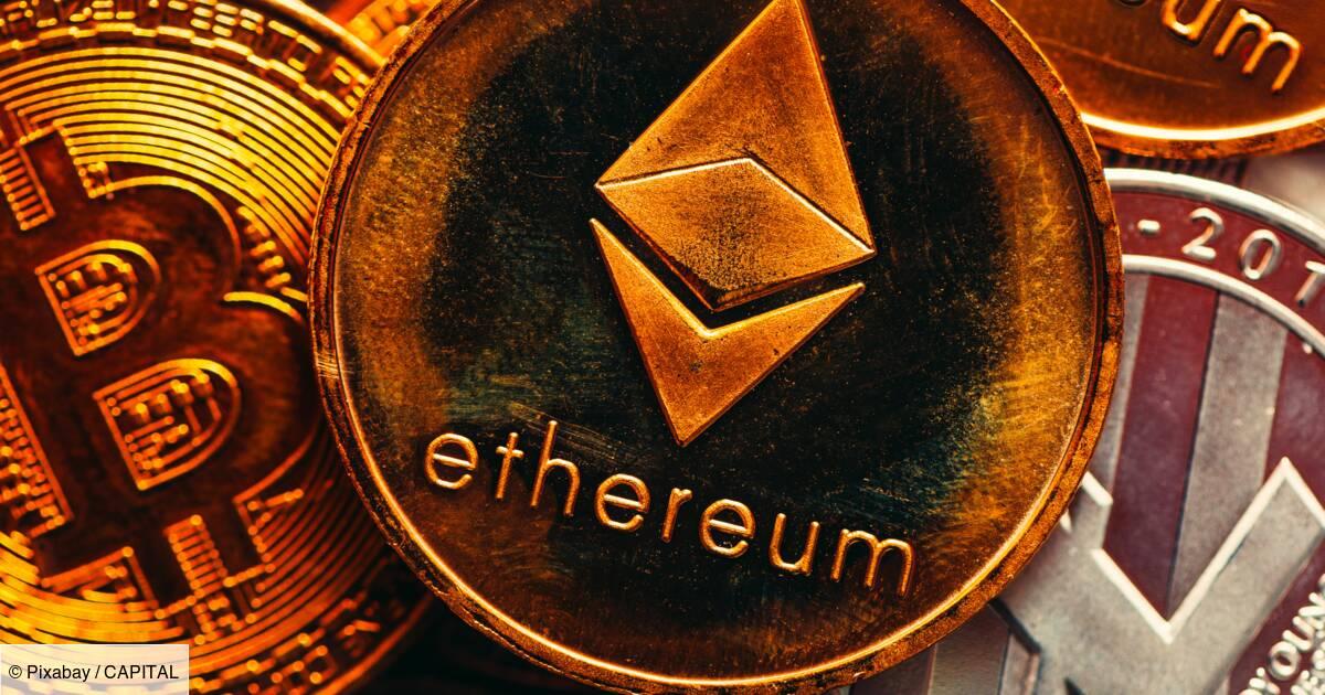 Cryptomonnaies : l'Ethereum va marquer des points face au Bitcoin : le  conseil Bourse du jour - Capital.fr