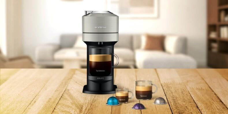 Amazon : Jusqu'à 60% de réduction sur les machines à café Nespresso Krups Vertuo