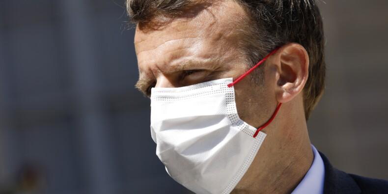 """Covid-19 : Emmanuel Macron n'est pas favorable à la vaccination obligatoire """"à ce stade"""""""