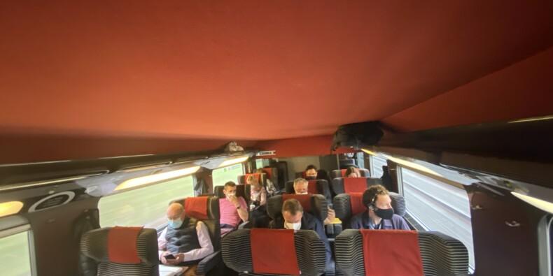 Covid : de possibles clusters dans les TGV ?