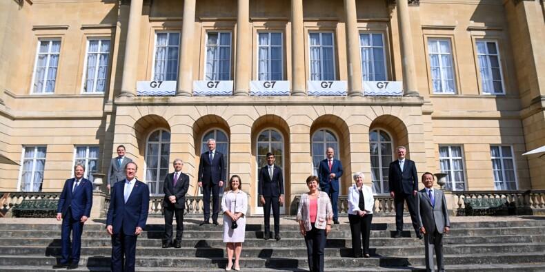 """Le G7 Finances s'accorde sur une taxe mondiale sur les sociétés """"d'au moins 15%"""""""