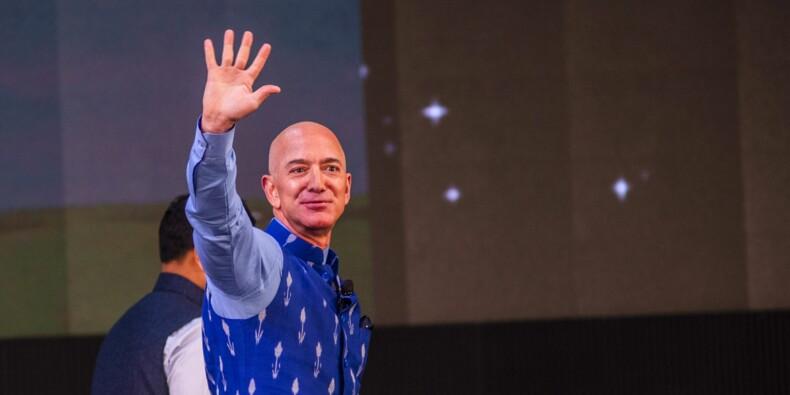 """Jeff Bezos participera au premier voyage de tourisme spatial de Blue Origin, un """"rêve"""" d'enfant"""