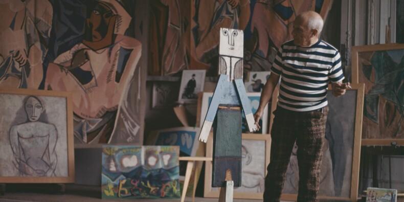 Un tableau de Picasso pour la première fois au beau milieu d'un hypermarché de l'Essonne