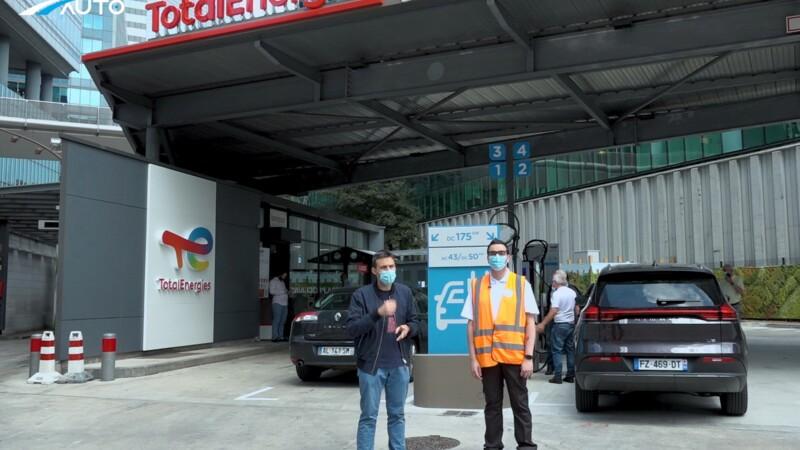 Total ouvre sa première station-service 100% électrique