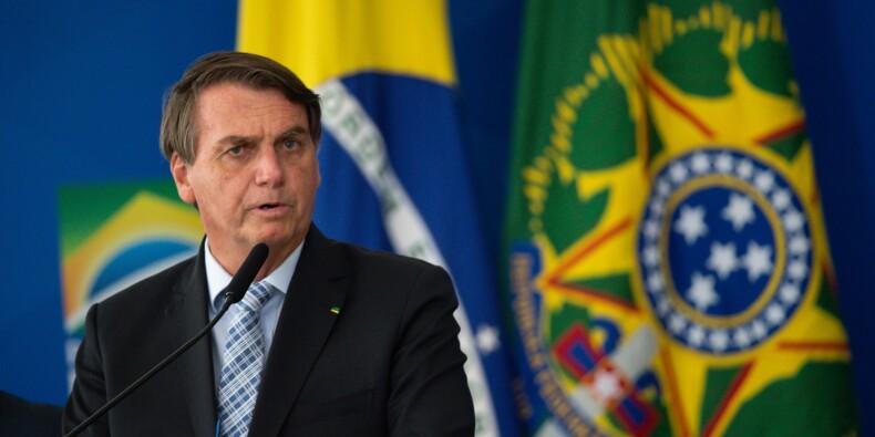Brésil : Jair Bolsonaro écope d'une amende pour non-port du masque