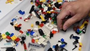 Et maintenant, la basket entièrement faite en Lego