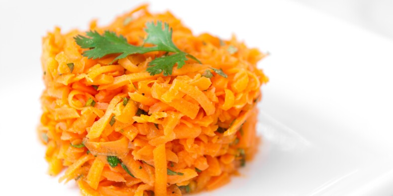 Des carottes râpées de chez Carrefour rappelées en raison de la présence de corps étrangers