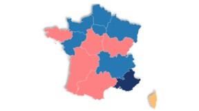 Elections régionales : découvrez qui arrive en tête dans votre région