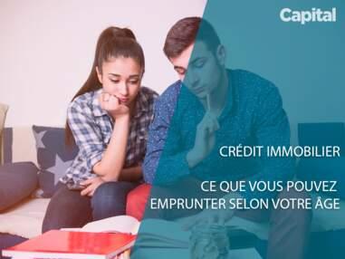 Crédit immobilier : ce que vous pouvez emprunter selon votre âge