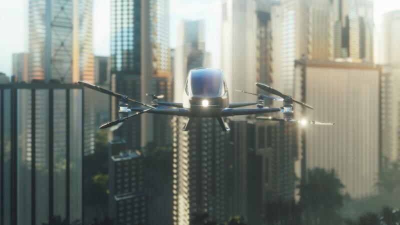 Ce drôle de véhicule hybride peut servir à la fois de voiture… et de petit avion