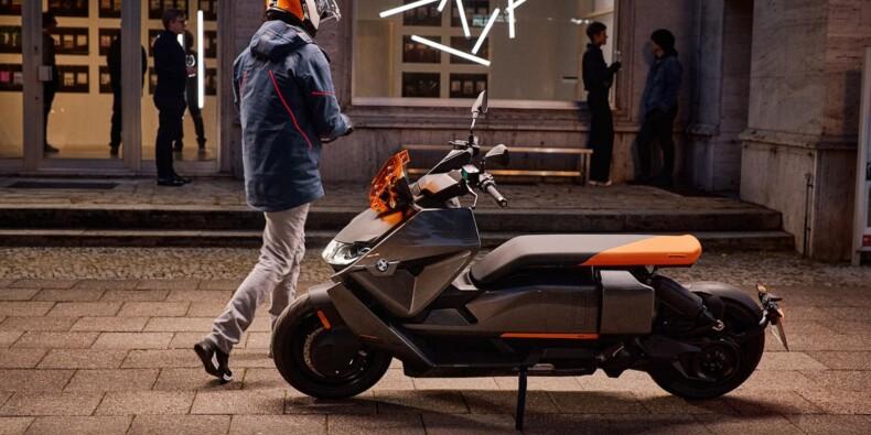 BMW dévoile le CE 04, son nouveau scooter électrique au look futuriste