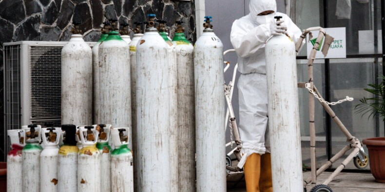 Flambée en Indonésie, nouveau foyer en Chine: le point sur la pandémie