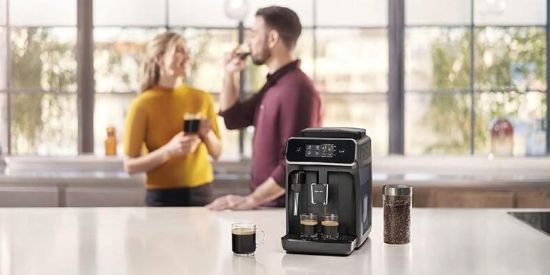 Soldes Amazon : Jusqu'à -47% de remise sur les machines à café (Philips, De'Longhi...)