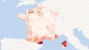 16 départements au-dessus du seuil d'alerte, notre carte de France