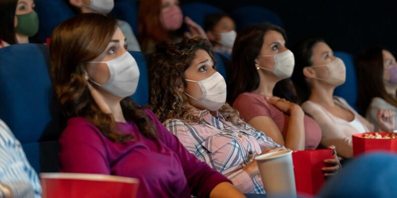 Au cinéma, le port du masque restera souvent obligatoire