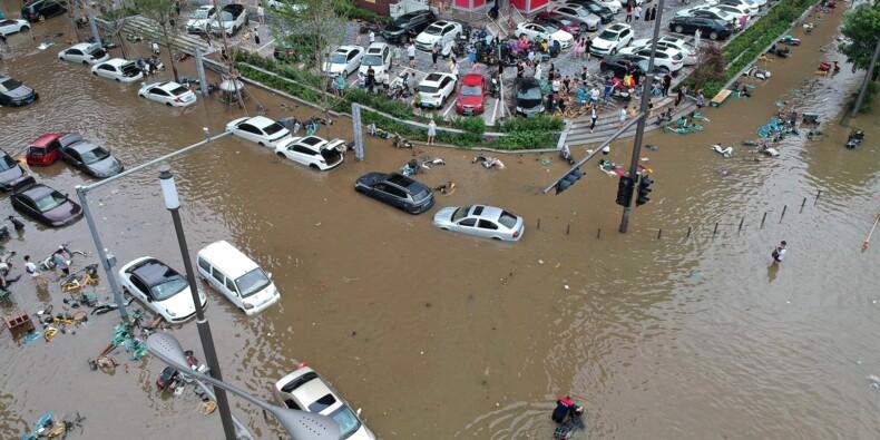 Chine : au moins 33 morts dans les inondations à Zhengzhou