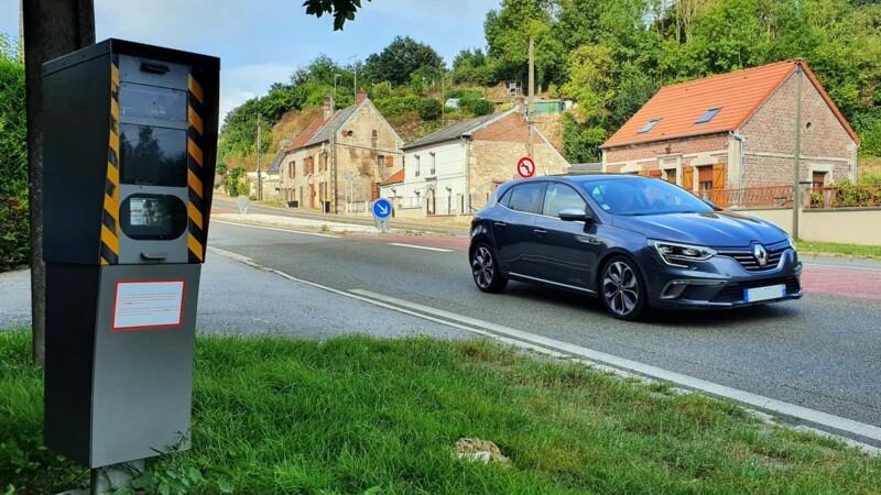 Lot-et-Garonne : l'improbable technique d'un automobiliste contre les radars automatiques