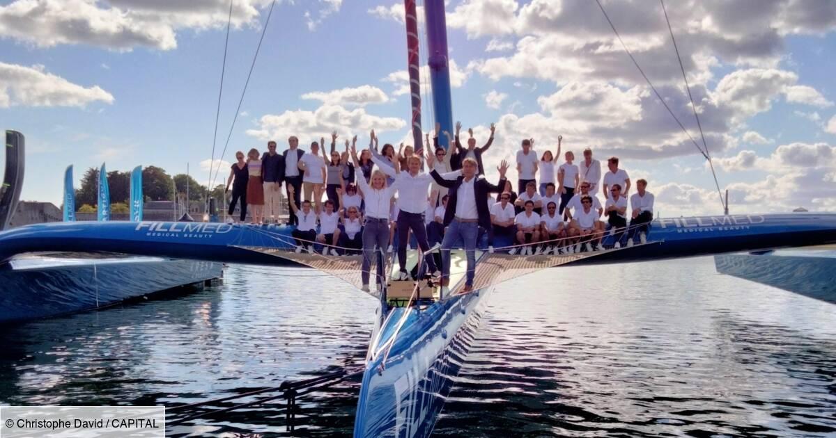 Le nouveau bateau de François Gabart taillé pour battre des records