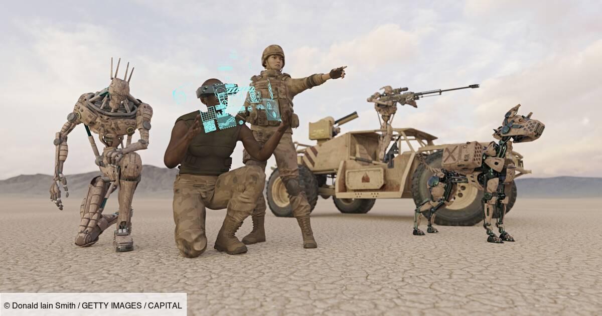 Une entreprise américaine vient de présenter le premier chien-robot armé d'un fusil d'assaut