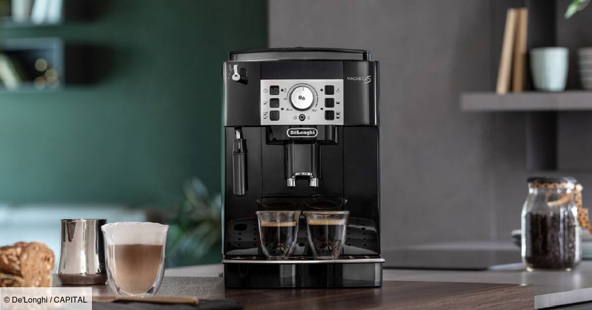 Amazon : Jusqu'à 360 euros de remise sur les machines à café à grain