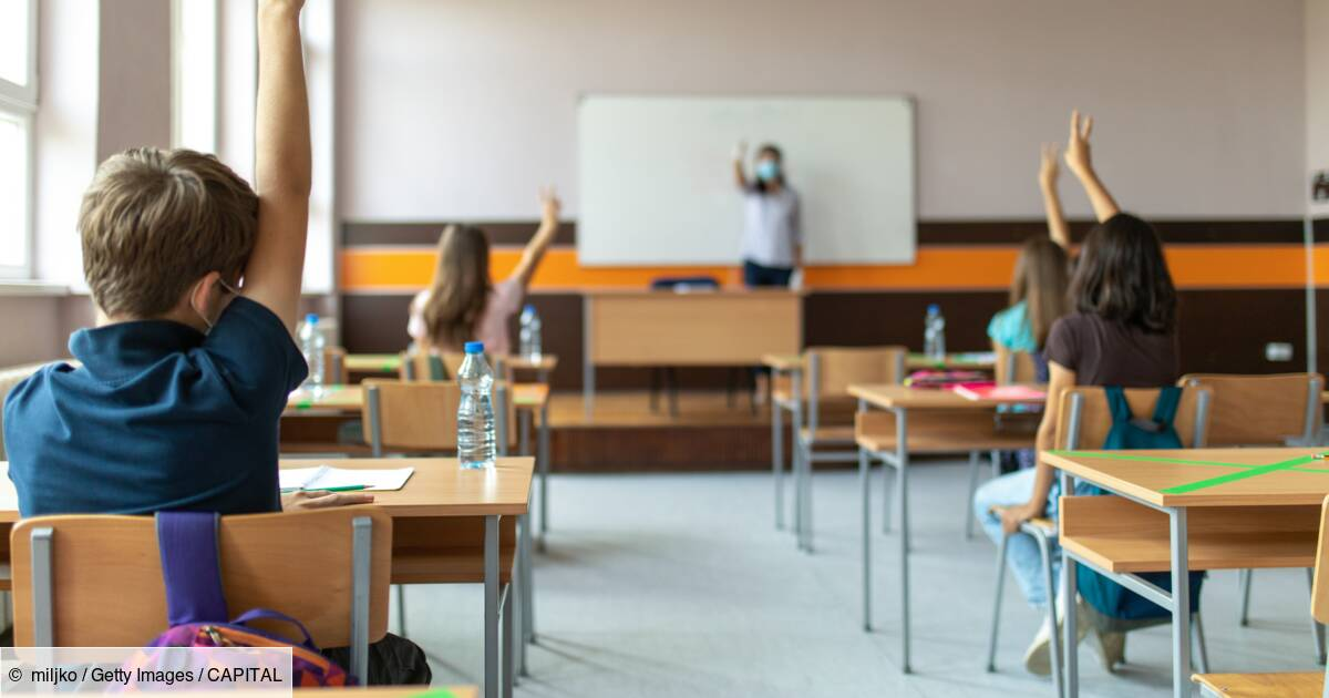 Covid-19 : le nombre d'écoles fermées a quadruplé en une semaine