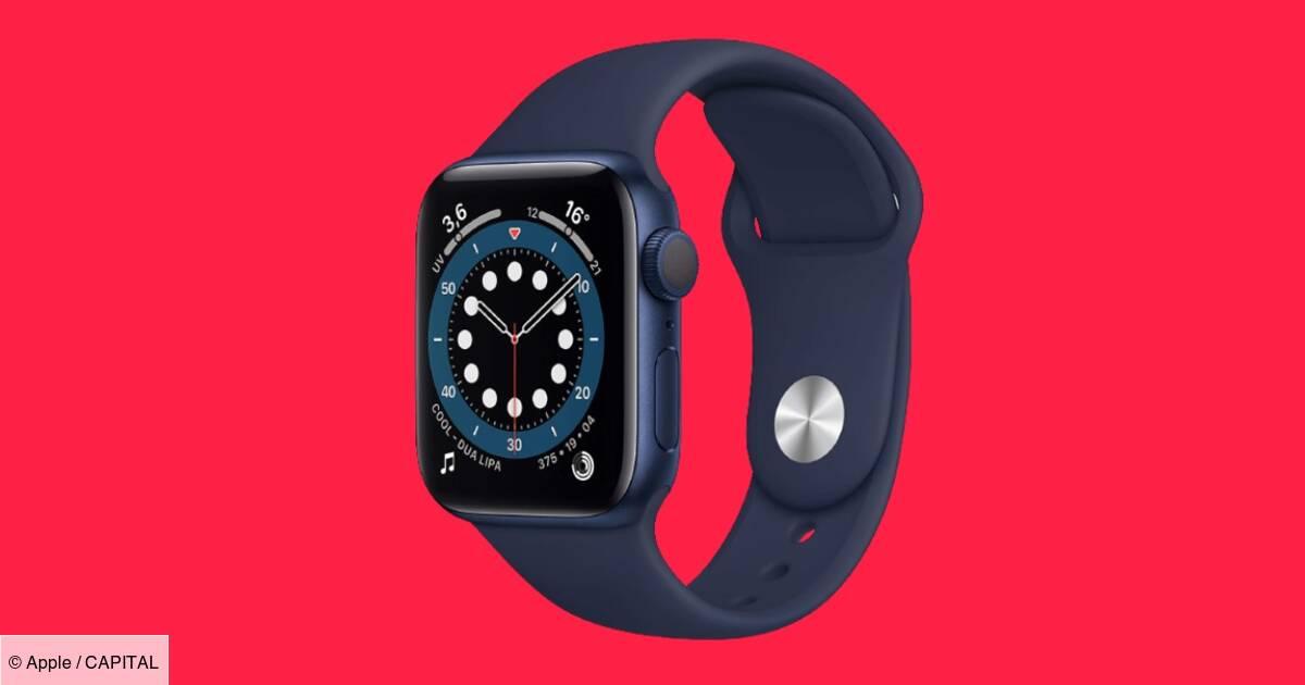 Apple Watch Series 6 : Vente flash sur la montre connectée chez Amazon