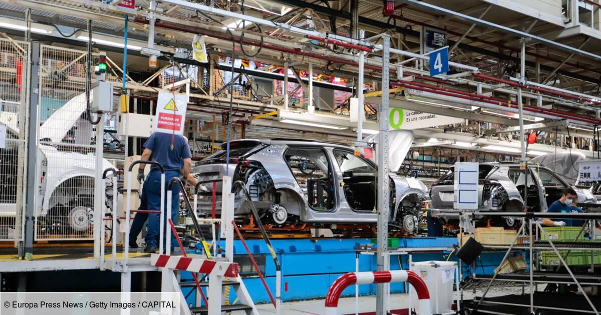 Stellantis : 600.000 véhicules en moins au troisième trimestre en raison de la pénurie de semi-conducteurs