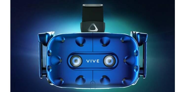Le HTC Vive Pro se mue aussi en casque de réalité augmentée