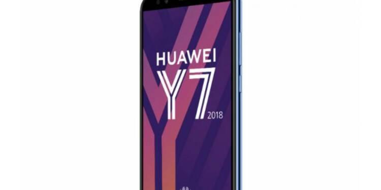 Huawei dévoile ses Y6 et Y7 2018, nouveaux smartphones entrée de gamme