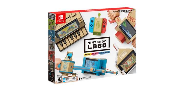 Nintendo Labo : on a testé les mini-jeux en carton