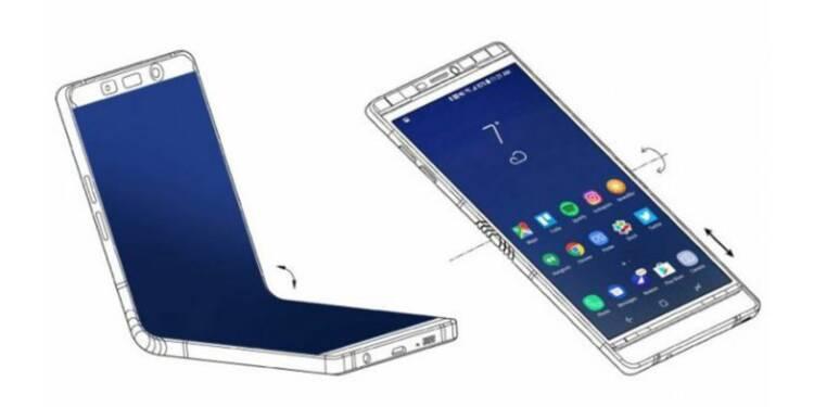 Galaxy X : Samsung dévoilerait son smartphone pliable début 2019