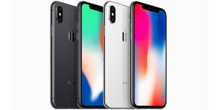 L'iPhone X d'Apple n'est plus un flop