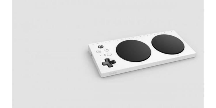 """Cette """"platine de DJ"""" serait-elle la future manette XBox destinée aux joueurs handicapés ?"""