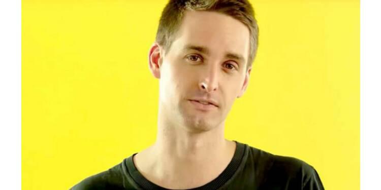 Le patron de Snapchat tacle Facebook sur la protection des données