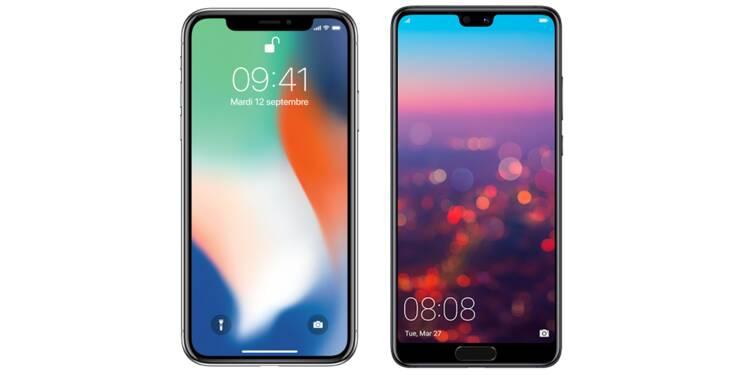 Entre l'iPhone X et l'Huawei P20 Pro, lequel choisir ? Notre comparatif