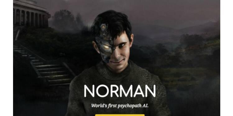 Voici Norman, une intelligence artificielle dépressive et un brin psychopathe