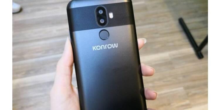 Avec son smartphone Must, le fabricant marseillais Konrow veut séduire les Français
