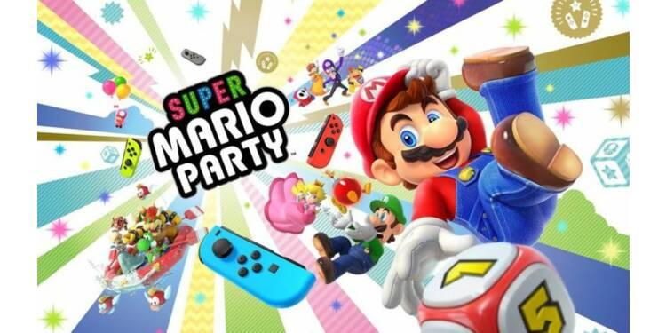 Ce qu'on a pu voir de Super Mario Party, bientôt sur Nintendo Switch