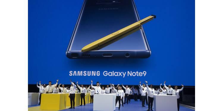 Samsung dévoile son Galaxy Note 9 : ce qu'il faut retenir de ce smartphone haut de gamme