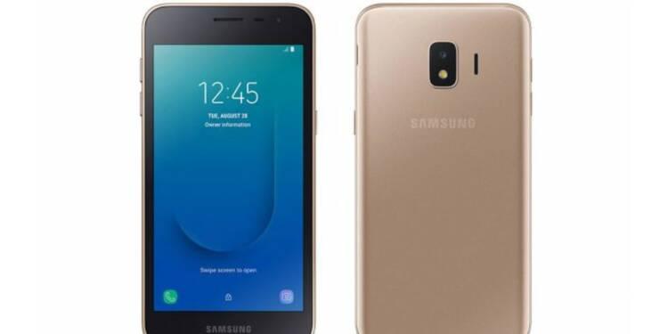 Galaxy J2 Core : voici le premier smartphone de Samsung sous Android Go