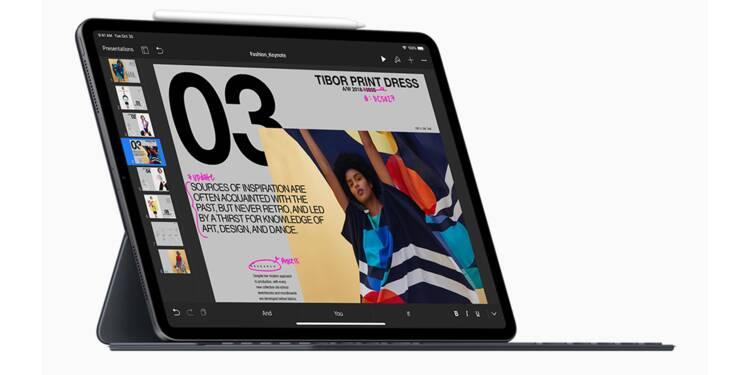 """Apple vend des iPad Pro légèrement pliés, mais""""c'est normal"""""""