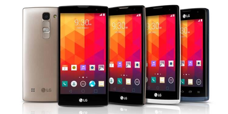 Smartphone enroulable : LG dépose un brevet