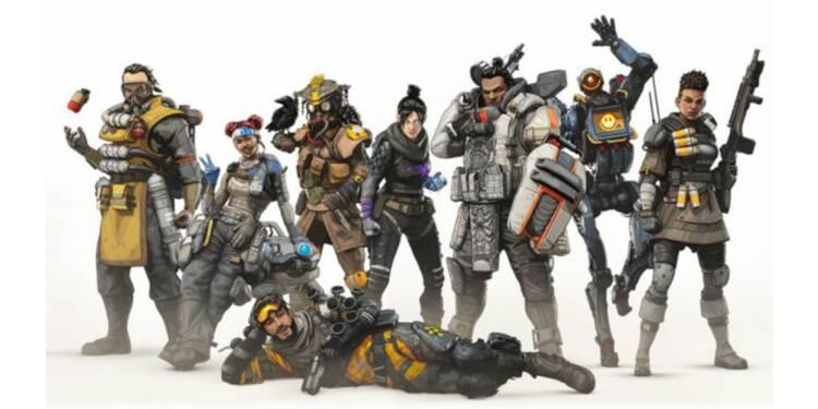 Apex Legends : le concurrent de Fortnite multiplie les records