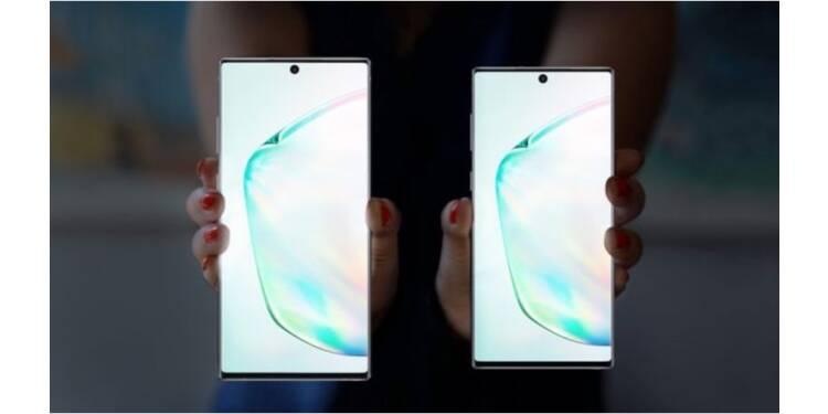 Samsung Galaxy Note 10 et Note 10+ : caractéristiques, prix et date de sortie
