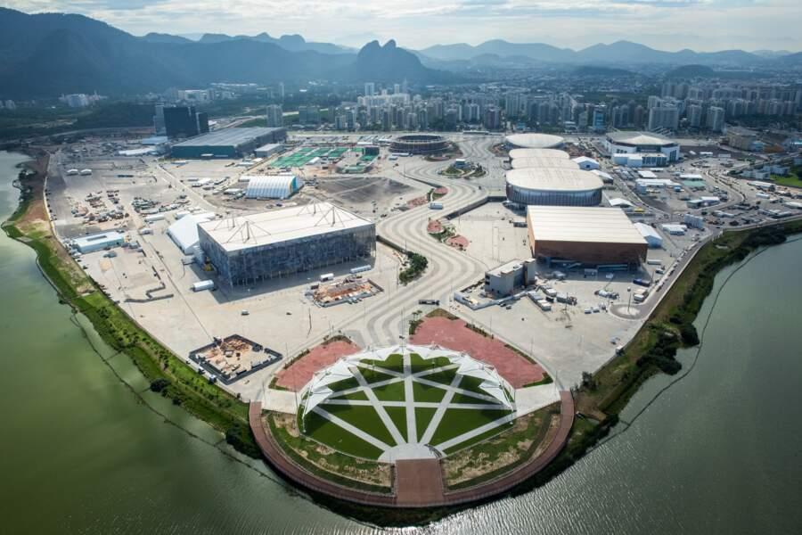 Le Rio Olympic Park à Barra, centre névralgique des JO