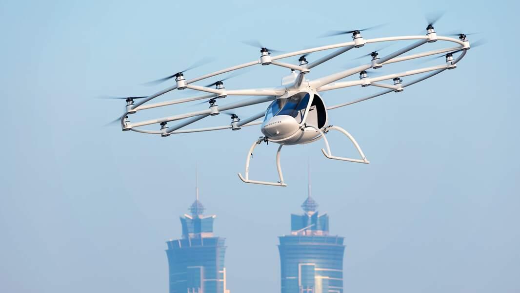Un drone-taxi autonome
