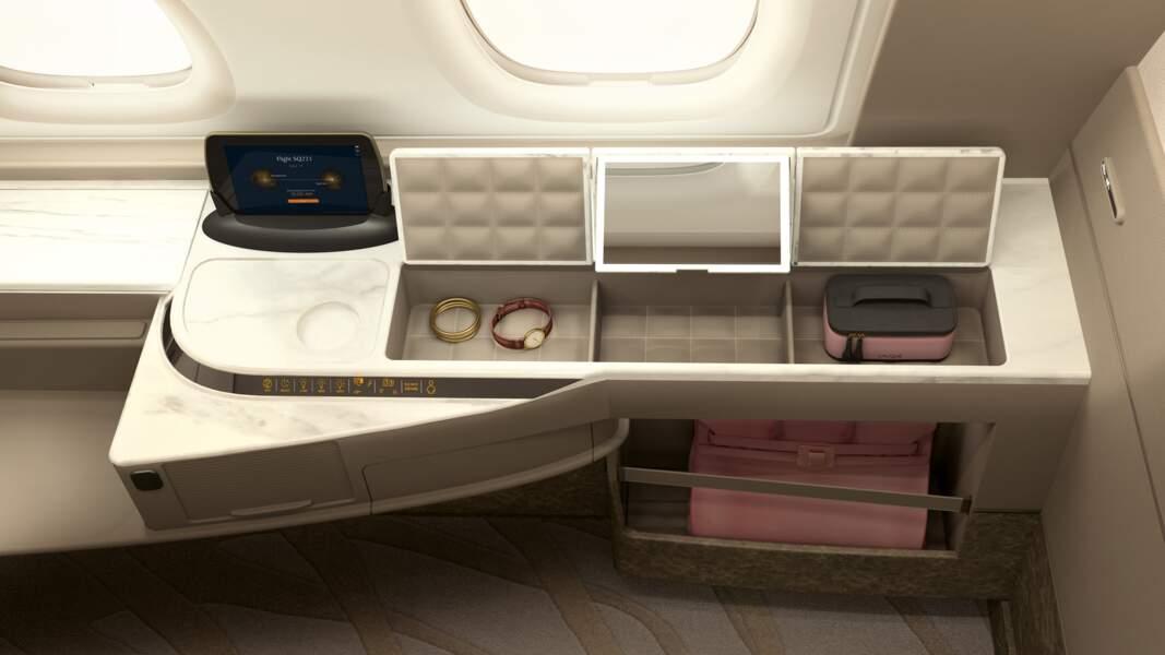 Lalique a créé les éléments du kit de confort