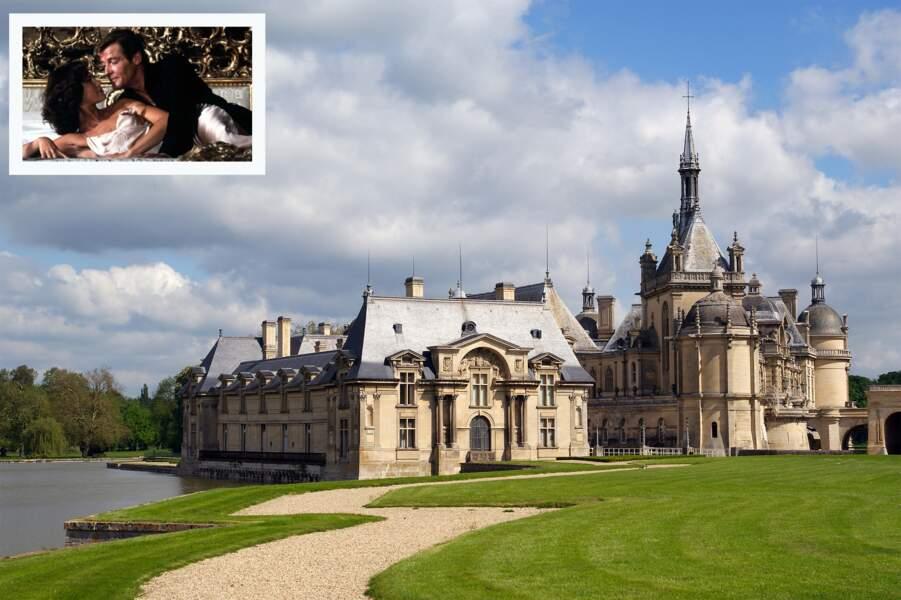 Le château de Chantilly (France)