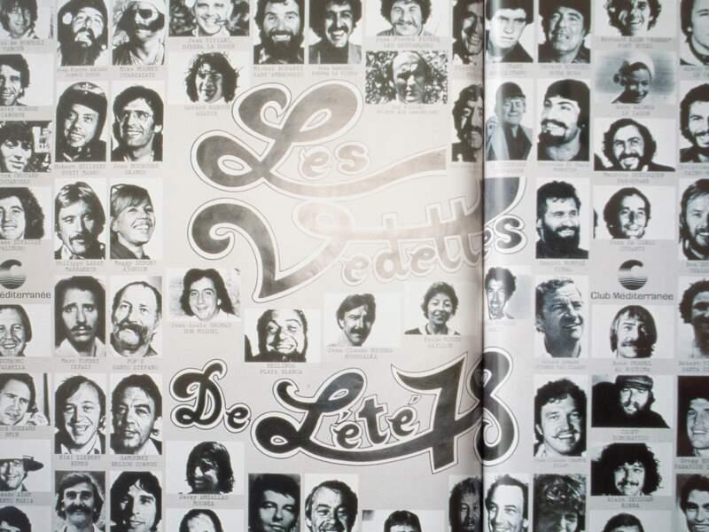 1978 : Les chefs de village, vraies stars du club