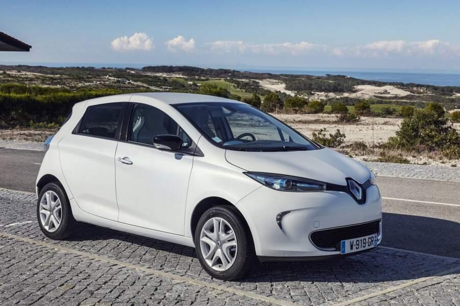 L'ancienne Renault Zoe